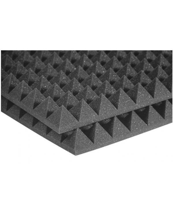 "Auralex 2"" Studiofoam 24 Pyramid in Charcoal (12 Pack)"