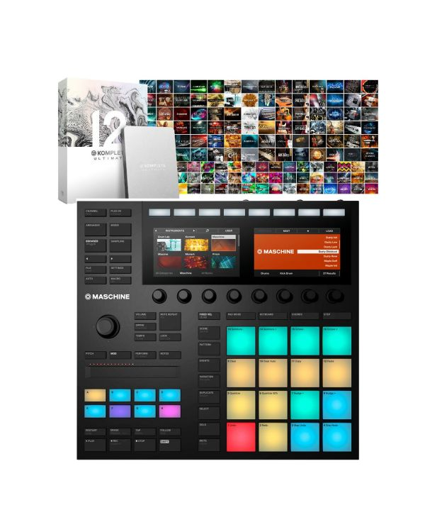 Native Instruments Maschine Mk3 with Komplete 12 Ultimate Collectors Edition
