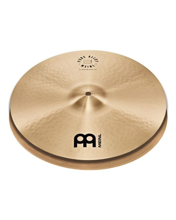 "Meinl Pure Alloy 15"" Medium HiHat Cymbal"