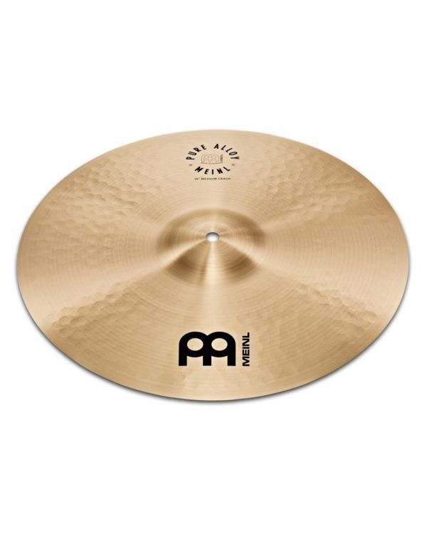 "Meinl Pure Alloy 18"" Medium Crash Cymbal"