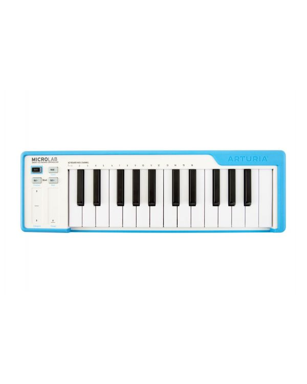 Arturia MicroLab Blue USB MIDI Keyboard Controller