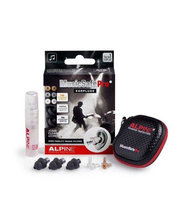 Alpine MusicSafe Pro Earplugs Black In Case