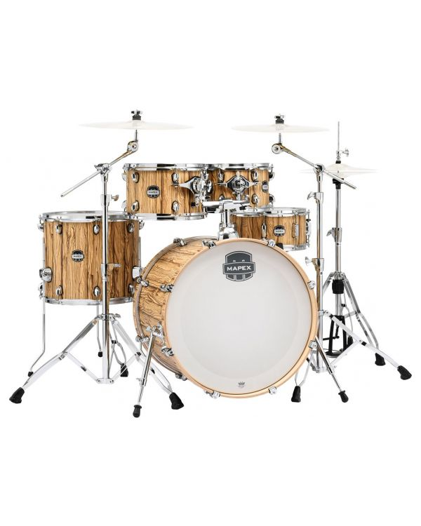 Mapex Mars 5-Piece Rock Shell Pack Driftwood with Hardware