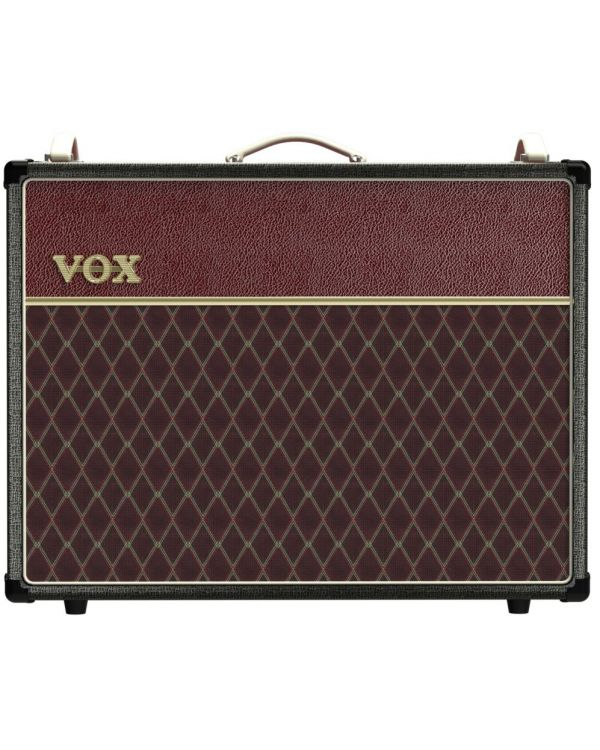 Vox AC30C2 30w 2x12 Combo Two Tone Black Maroon