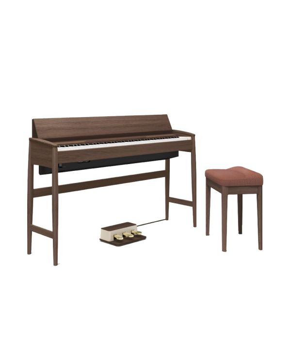 Roland Kiyola KF-10 Digital Piano with Stool Mocha Brown