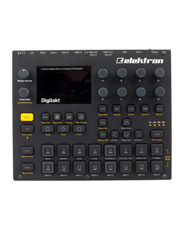 Elektron Digitakt DDS-8 Drum Machine Sampler