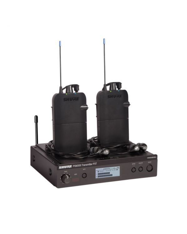 Shure PSM300 Twinpack Wireless Monitoring System