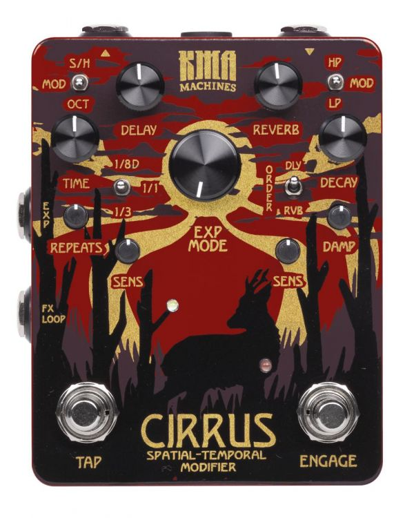KMA Audio Machines Cirrus Delay and Reverb Pedal