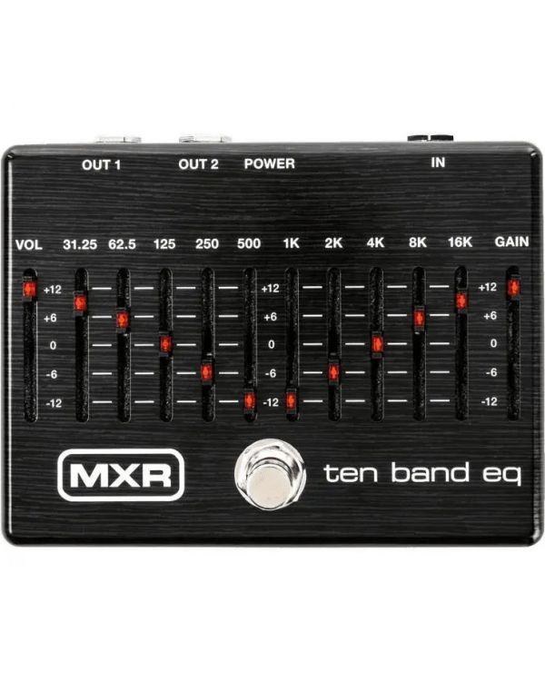 MXR 10 Band EQ Pedal Black Limited Edition