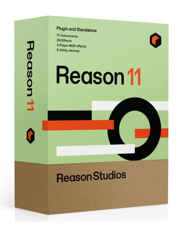 Upgrade to Reason 11 for Intro Ltd Essentials Adapted or Lite owners