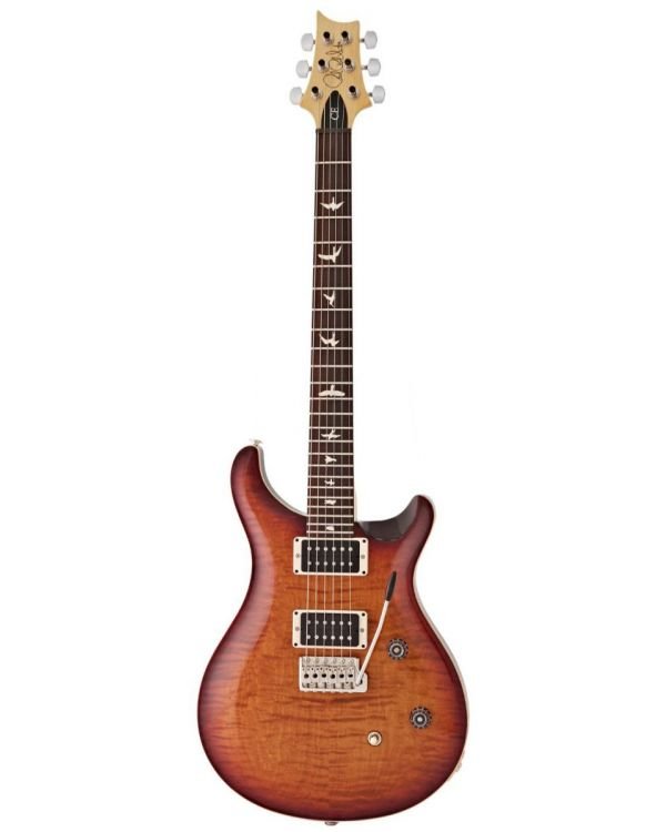 PRS CE24 Dark Cherry Sunburst Flame Electric Guitar