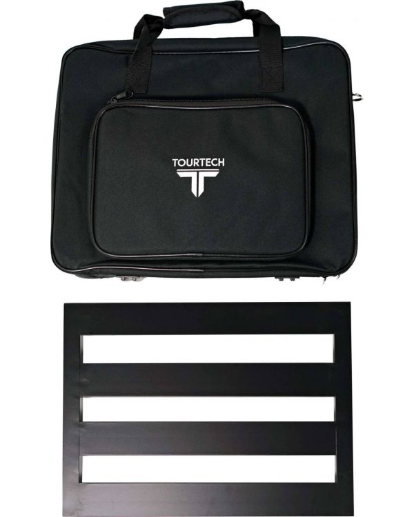 TOURTECH Pedal Board with Soft Case, Medium