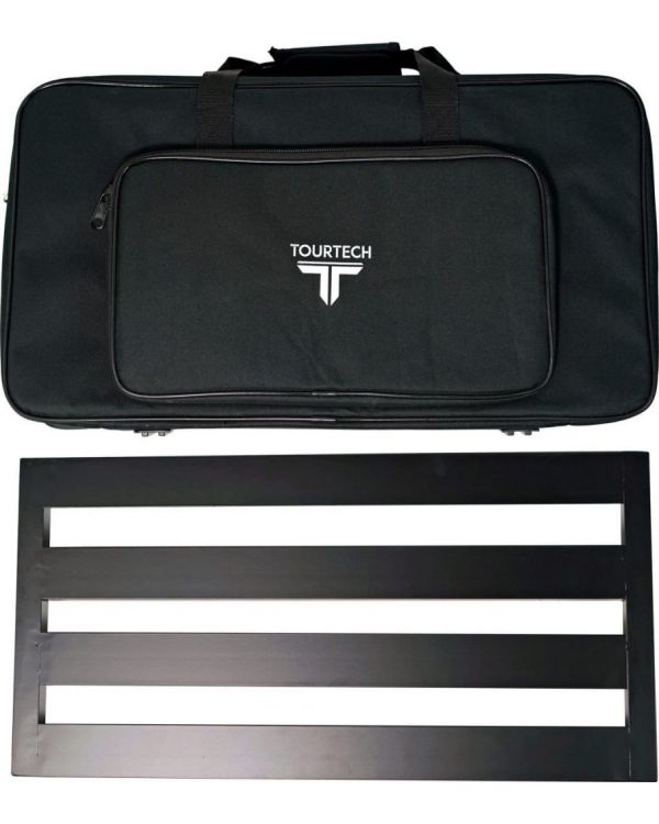 TOURTECH Pedal Board with Soft Case, Large
