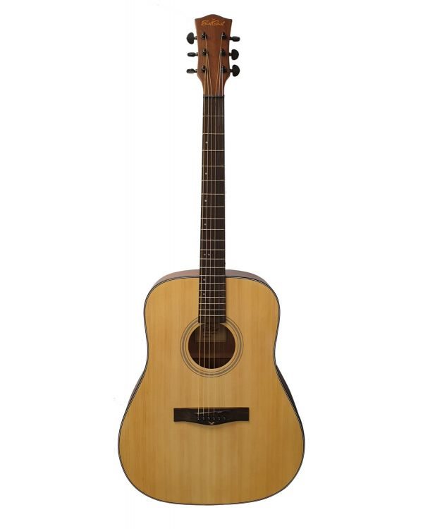 Eastcoast D1 Dreadnought Acoustic Guitar, Natural