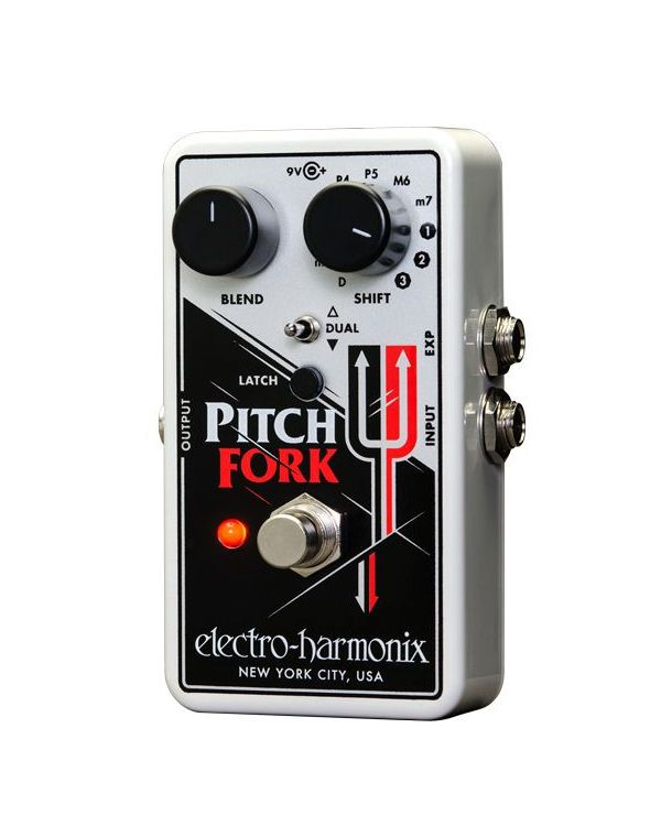 Electro Harmonix Pitch Fork Polyphonic Synth Pedal