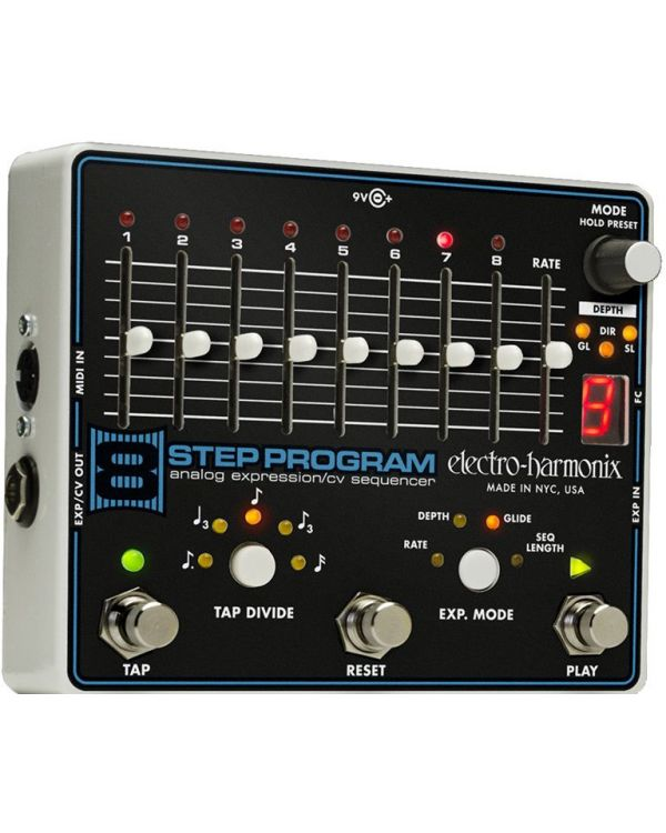 Electro Harmonix 8-Step Program Sequencer Pedal