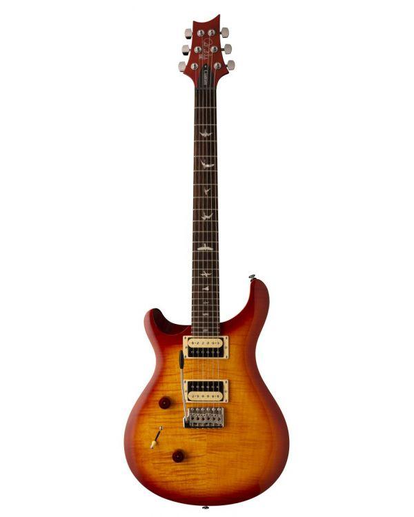 PRS SE Custom 24 Vintage Sunburst Left Handed Electric Guitar