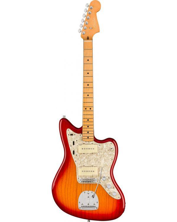 Fender American Ultra Jazzmaster, MN, Plasma Red Burst