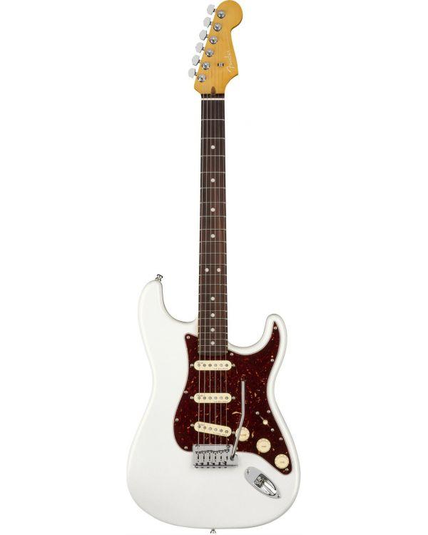 Fender American Ultra Stratocaster, RW, Arctic Pearl