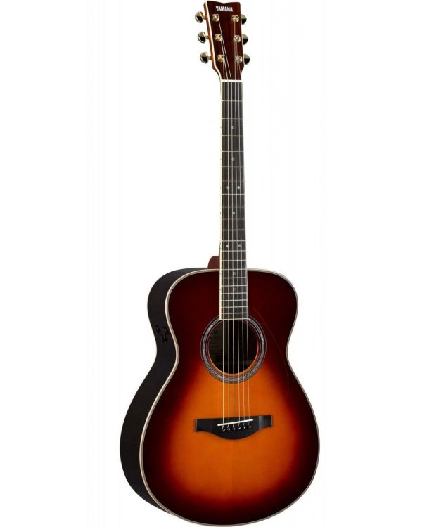 Yamaha LSTA TransAcoustic Acoustic Guitar, Brown Sunburst