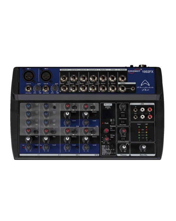Wharfedale Connect 1002 FX Black Mixing Desk