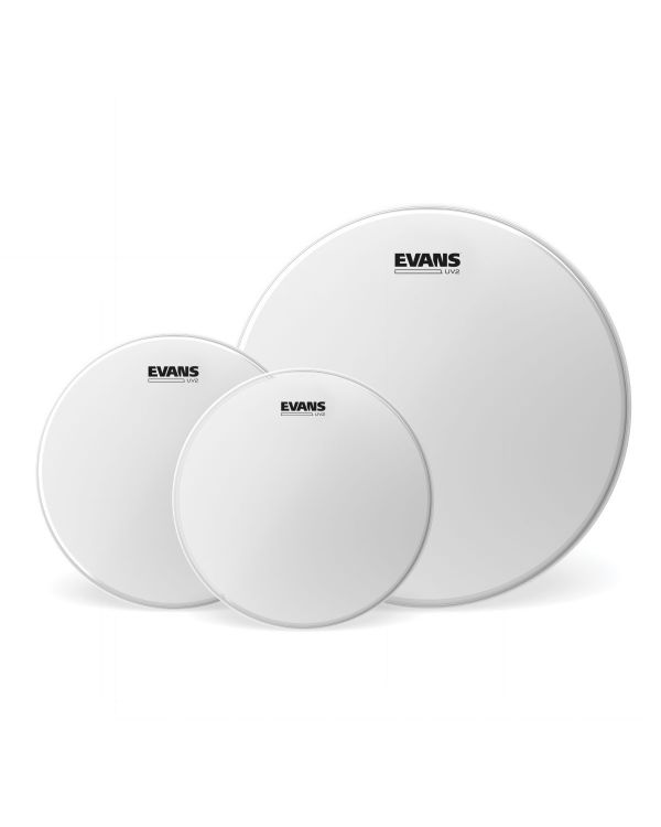 Evans UV2 Coated Tom Pack - Rock