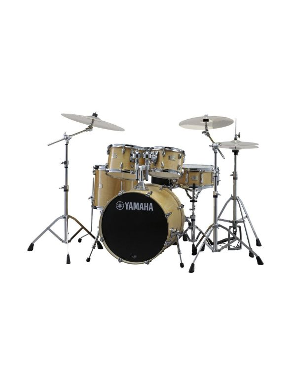 """Yamaha Stage Custom 22"""" Fusion Kit with Hardware in Natural"""