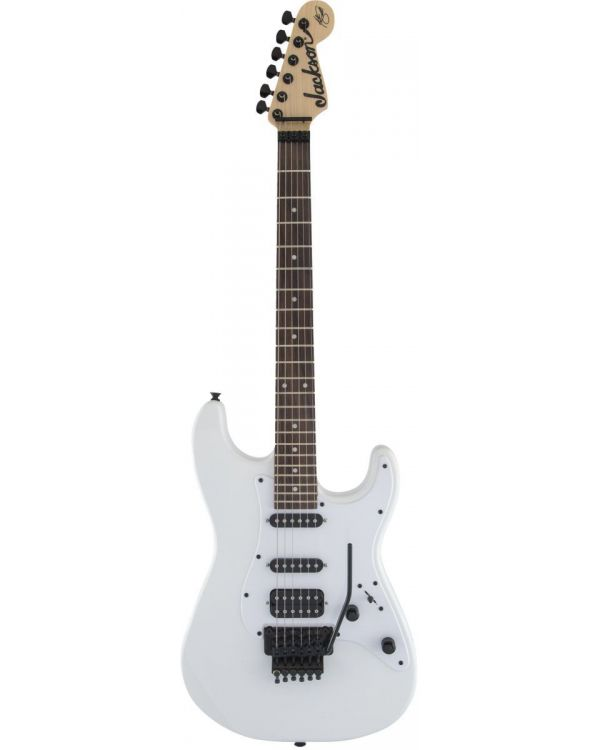 Jackson X Series Signature Adrian Smith SDX Laurel Fb Snow White