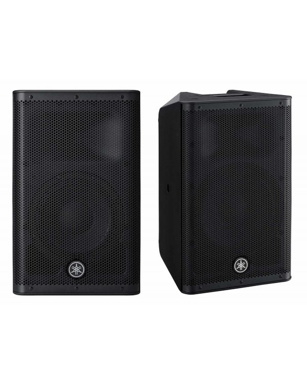 Yamaha DXR10 MKII Active PA Speakers, Pair