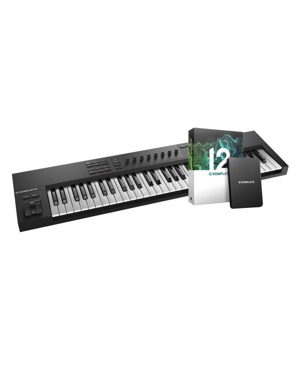 Native Instruments Komplete Kontrol A61 with Komplete 12