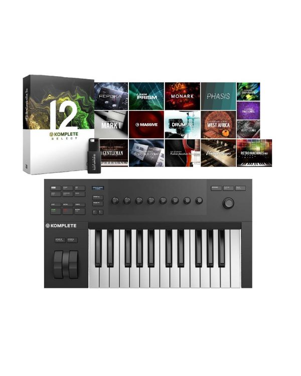 Native Instruments Komplete Kontrol A25 with Komplete 12 Select