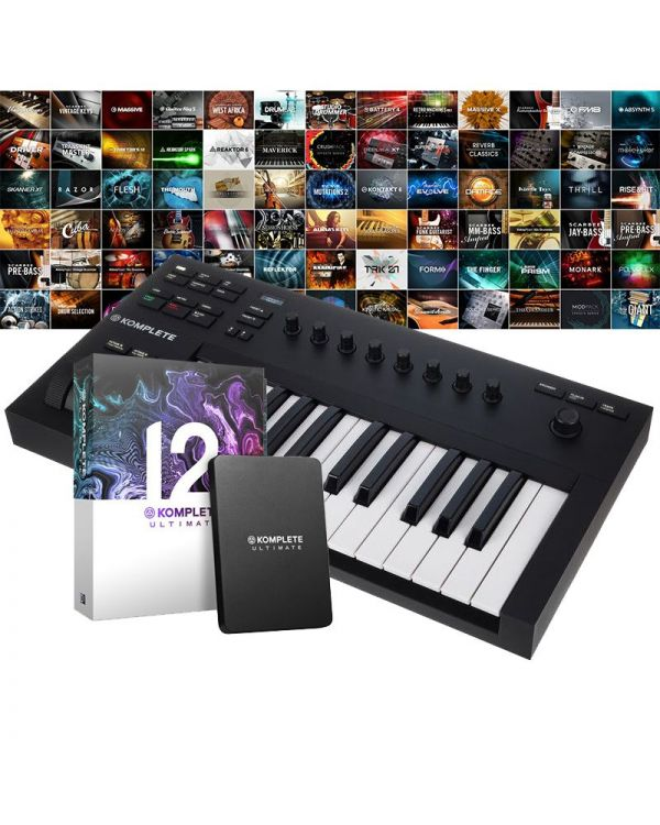 Native Instruments Komplete Kontrol A25 with Komplete 12 Ultimate