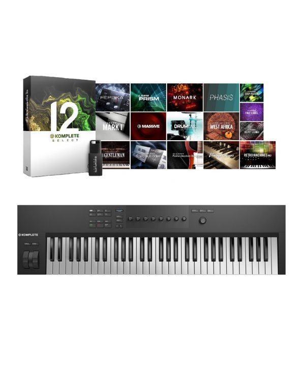Native Instruments Komplete Kontrol A61 with Komplete 12 Select
