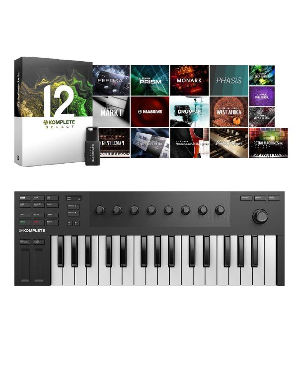 Native Instruments Komplete Kontrol M32 with Komplete 12 Select
