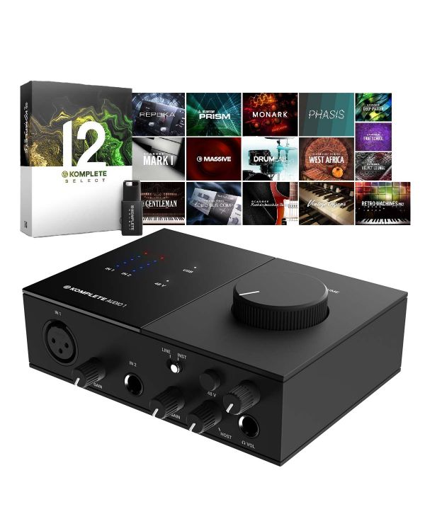 Native Instruments Komplete Audio 1 with Komplete 12 Select