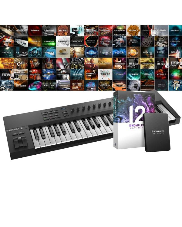 Native Instruments Komplete Kontrol A49 with Komplete 12 Ultimate