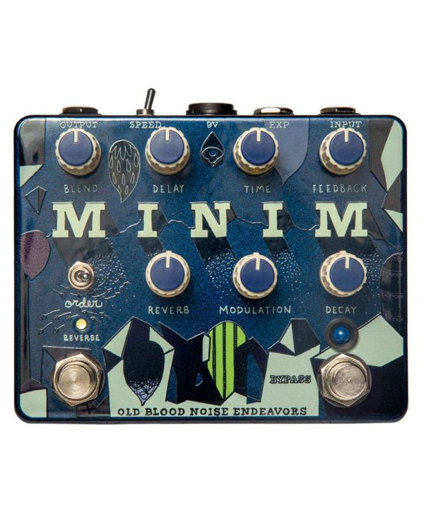 Old Blood Noise Endeavors Minim Delay and Reverb Pedal