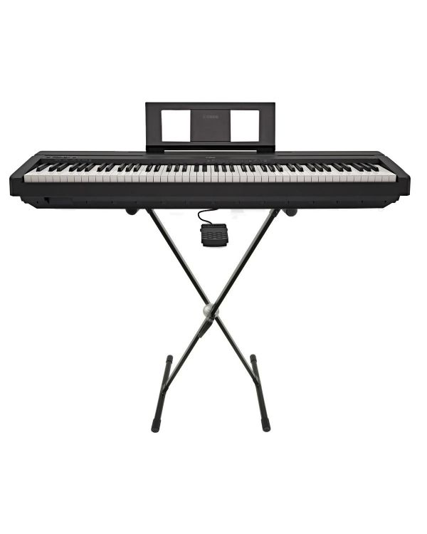 Yamaha P-45 Keyboard Bundle with Stand
