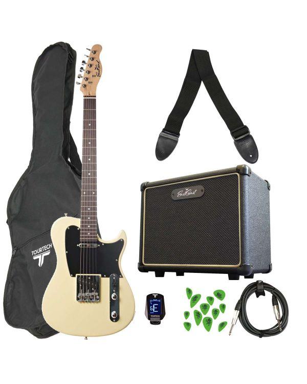 Eastcoast GT100 Electric Guitar Starter Pack Vintage Blonde