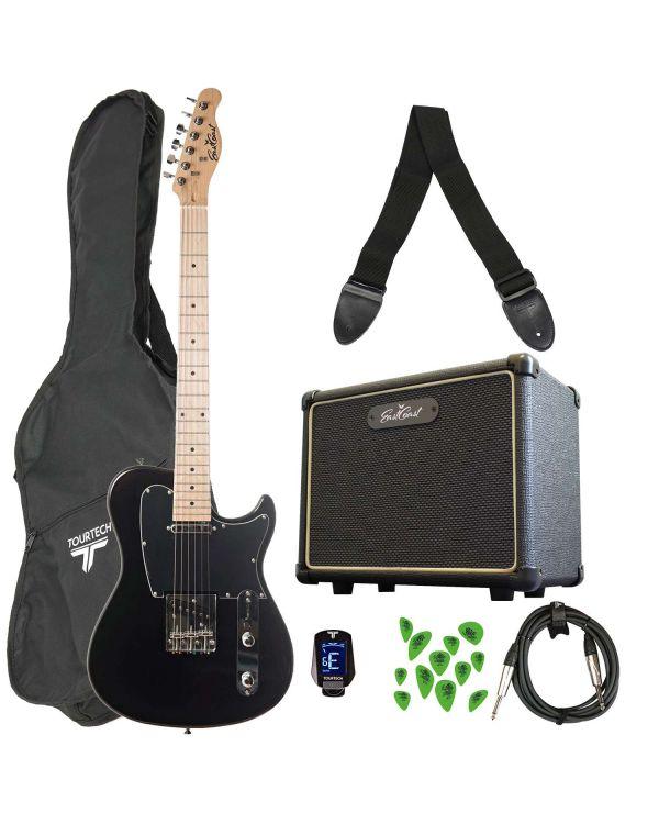 Eastcoast GT100 Electric Guitar Starter Pack Black