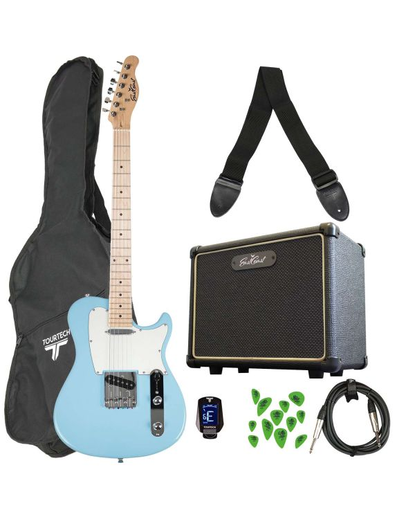 Eastcoast GT100 Electric Guitar Starter Pack Blue