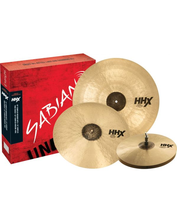 Sabian HHX Complex Performance Set Cymbal Pack