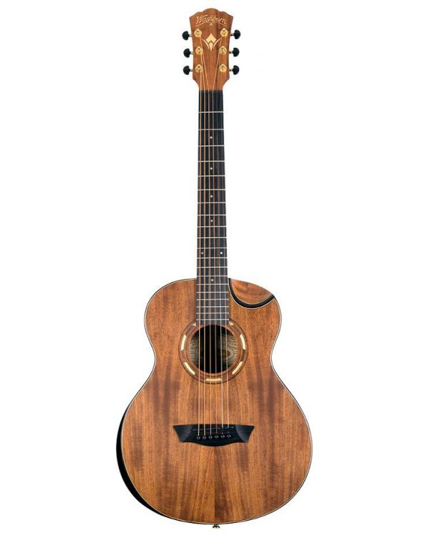 Washburn G-Mini 55 Koa Acoustic Guitar