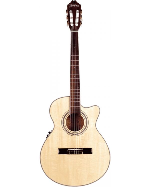 Washburn EAC12 Mini Jumbo Nylon String Guitar