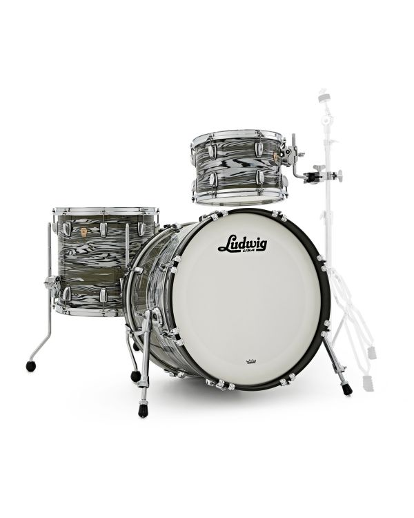 Ludwig Classic Maple 3 Piece Shell Pack, Avocado Strata