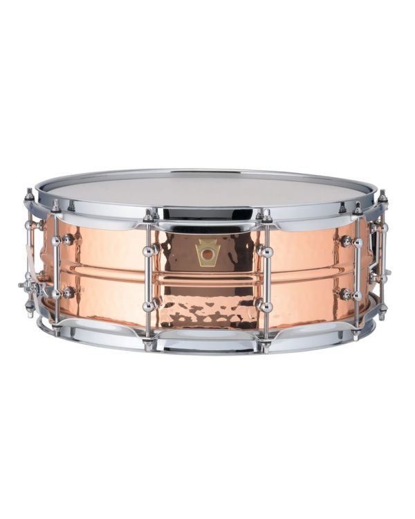 "Ludwig Hammered Copper Phonic 14"" x 5"" Snare"