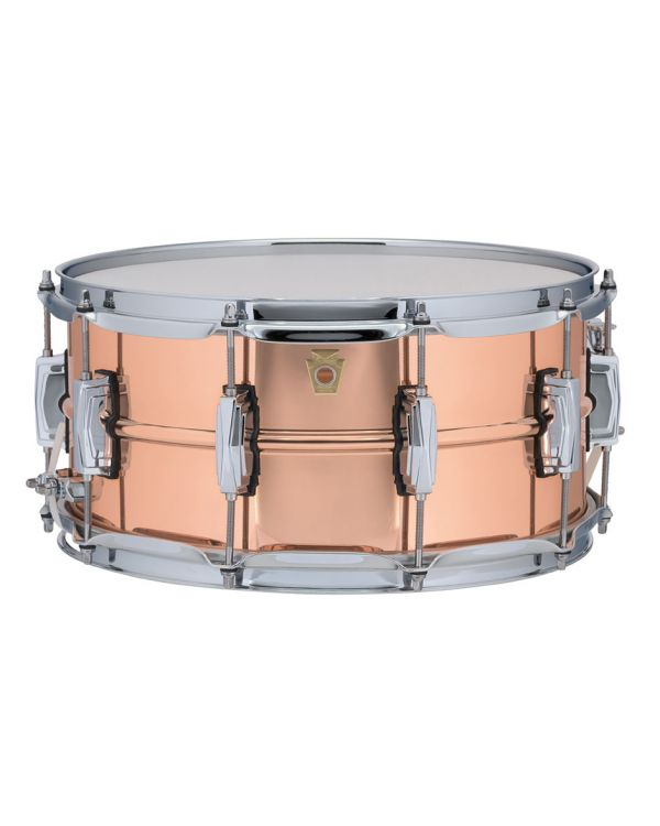 "Ludwig Copper Phonic 14"" x 6.5"" Snare"