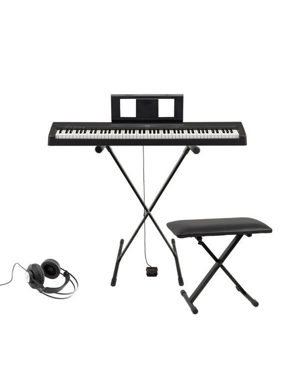 Yamaha P-45 Digital Piano Keyboard Starter Pack