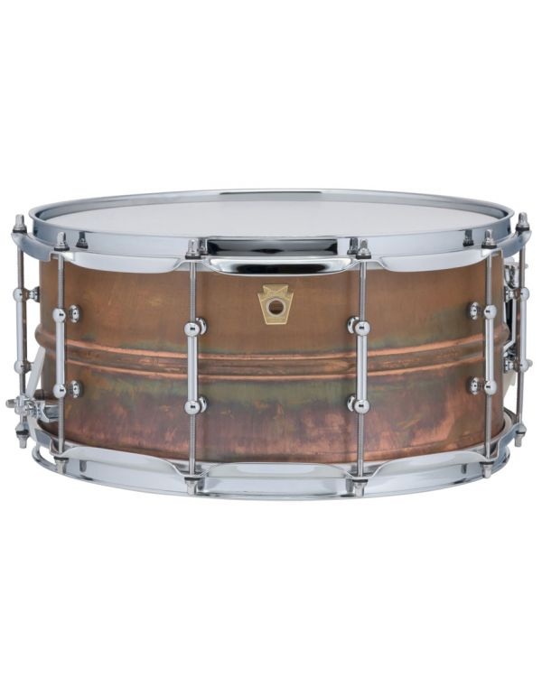 "Ludwig Raw Copper Phonic 14"" x 6.5"" Snare Drum"