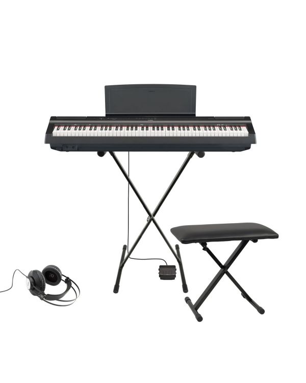 Yamaha P-125 Digital Piano Keyboard Starter Pack